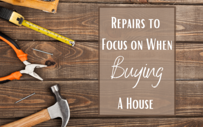 6 Repairs to Focus on When Buying a House